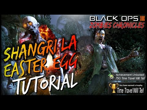 """Shangri La Easter Egg Guide In DEPTH! """"Zombies Chronicles"""" Time Travel Will Tell Guide"""