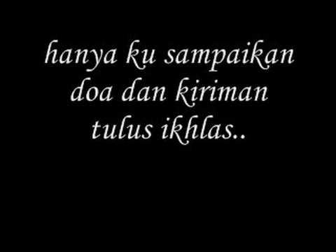Lirik Lagu Raya Sudirman - Dari Jauh Kupohon Maaf
