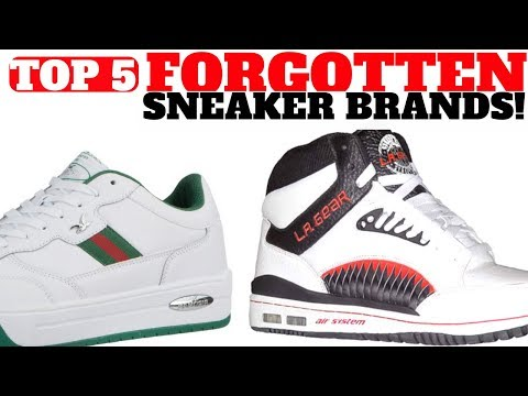 Top 5 SNEAKER Brands You FORGOT!