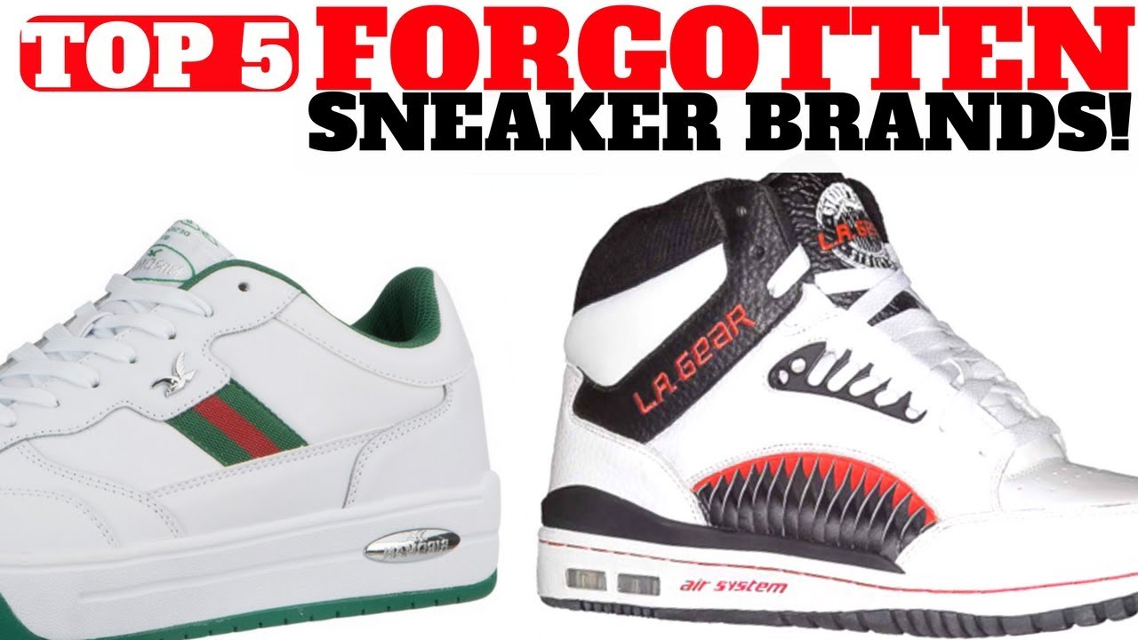 13a6589b73e Top 5 SNEAKER Brands You FORGOT!