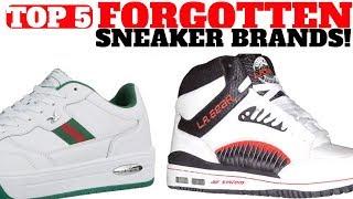 Top 5 SNEAKER Brands You FORGOT!