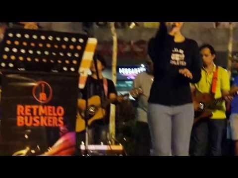 Lepaskanmu Kerana Terpaksa -Nurul feat Retmelo buskers cover Ukays