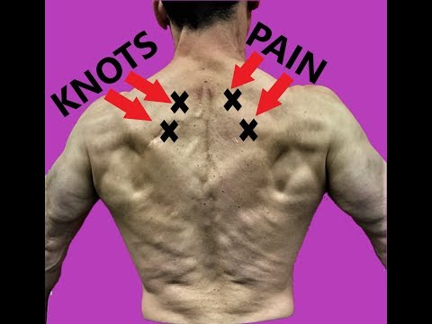 Rhomboid Pain Relief Fascial Release and Exercises