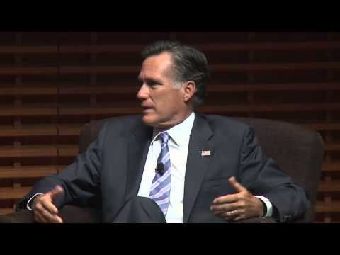 Mitt Romney on Leadership: Know Your Values
