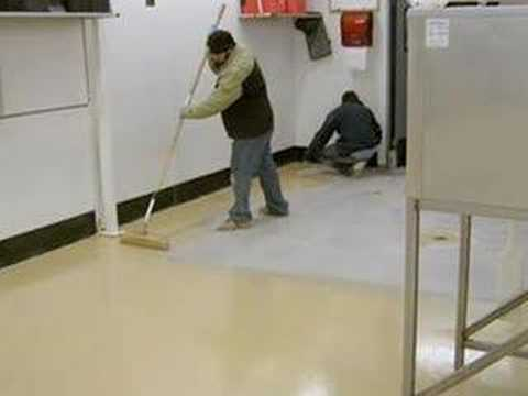 Polyaspartic Floor Coatings - One Day Polymer Topping - The