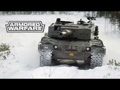 """Armored Warfare: Проект Армата"" Leopard 2 10411 урона и ничья"
