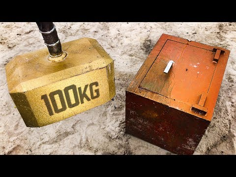 Can THORS HAMMER Break Into a 250KG SAFE?