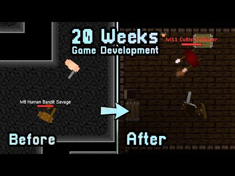 20 Weeks Of Indie Game Development In 10 Minutes (Java RPG)