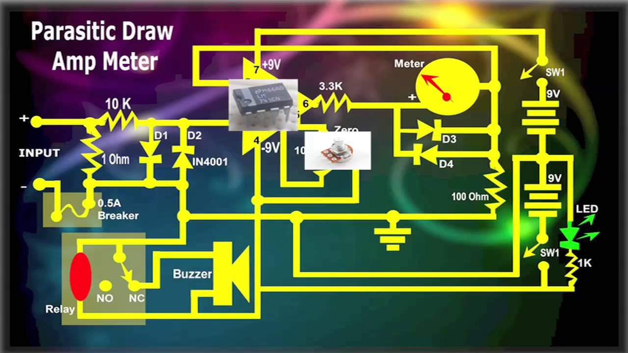 Parasitic Draw Amp Meter Youtube Circuit The Load Discharging Any And Or