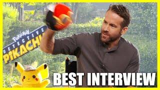 Download Ryan Reynolds Throws Pokéballs At Interviewer