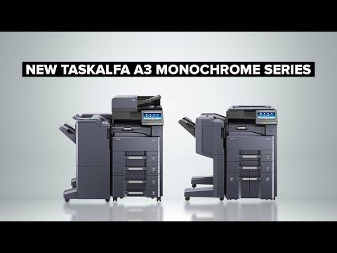New TASKalfa A3 Monochrome Series - YouTube