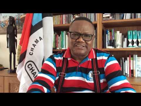 Download MHE TUNDU LISSU AMSHAMBULIA VIKALI KATIBU MKUU WA CCM AKIMJIBU KUHUSU JAMBO HILI