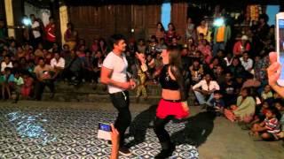 Butwal binita dance with handsome hero Krishna kunwar... In paributwal vailo...