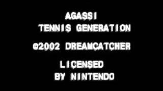 GBA ► Agassi Tennis Generation
