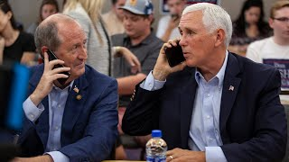 Vice President Mike Pence campaigns for Dan Bishop in NC 9th District race