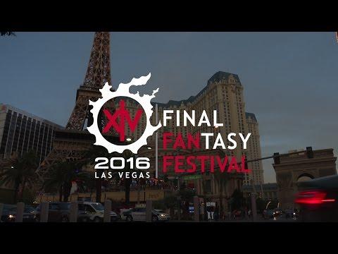 Celebrating the FFXIV Fan Festival 2016 in Las Vegas
