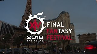 Celebrating the FFXIV Fan Festival 2016 in Las Vegas