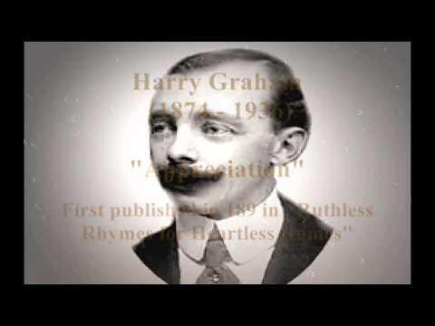 """Harry Graham """"Appreciation"""" Poem animation"""