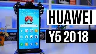 Огляд Huawei Y5 2018 - Невже кращий ніж Xiaomi Redmi 5a ?