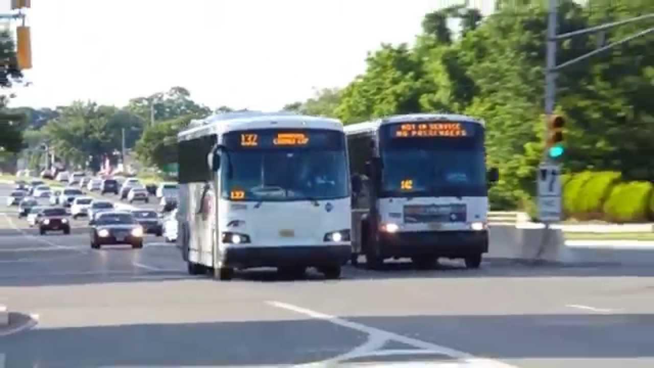 Nj Transit Designline Eco Coach Bus 7208 On The 132 In