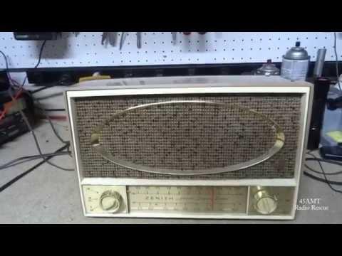 Repair of a 1960 Zenith C725 AM FM Tube Radio
