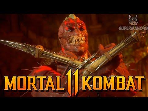"BARAKA IS STRONGER THAN GODS! - Mortal Kombat 11: ""Baraka"" Gameplay"