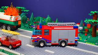 Lego Firefighters: Real Heroes - Truck Fire On Highway [S01E05]