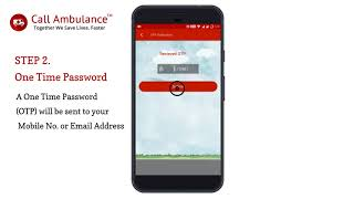 Call Ambulance Help - How To Create Your Account ?