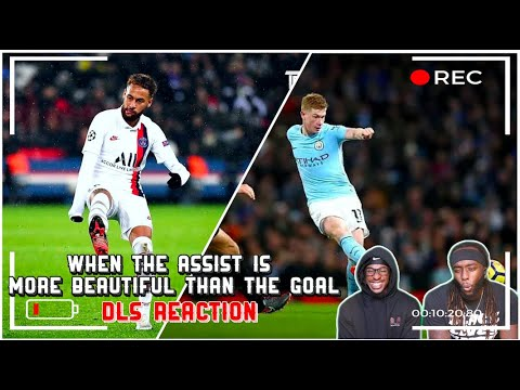 Download When The Assist Is More Beautiful Than The Goal | DLS Reaction
