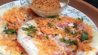 ఉత్తప్ప ఇలా చేస్తే ఎ పచ్చడి అవసరం లేదు / How to make tasty uttappa / Indianmom busy lifestyle