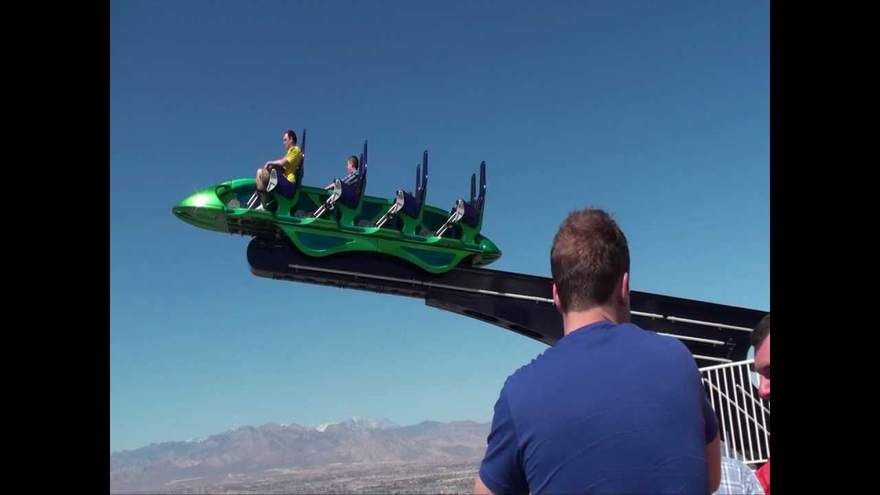 Attraction On The Roof Of The Stratosphere Hotel Las