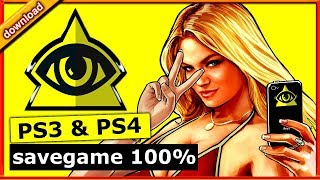 [PS4] [PS3] game save GTA 5 - 100% Completion