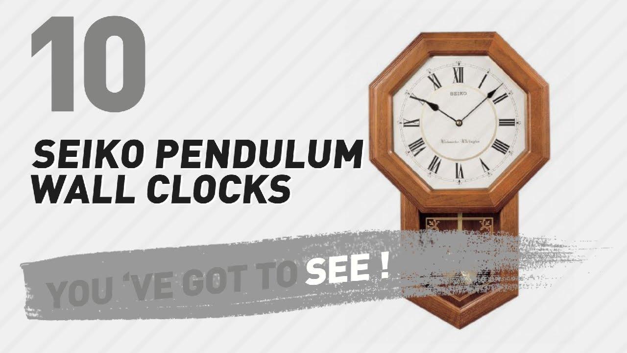 Seiko pendulum wall clocks new popular 2017 youtube seiko pendulum wall clocks new popular 2017 amipublicfo Image collections