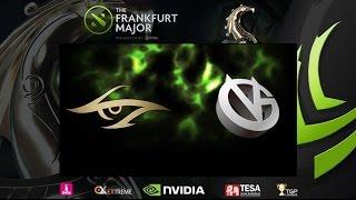 [ Dota2 ] Secret vs VG - The Frankfurt Major 2015 : Main Event - ARF