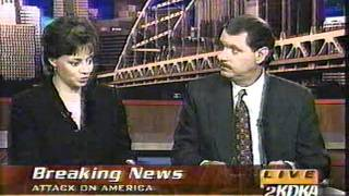 KDKA-TV Pittsburgh Coverage After Sept. 11, 2001 Attacks