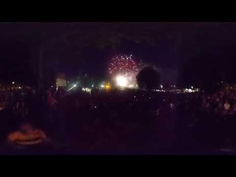 Canada Day 2018 Fireworks, Harris Park, London, Ontario - Final Part 4