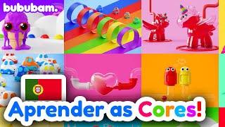 Aprender as Cores em Português !!!  (🇵🇹) - bububam