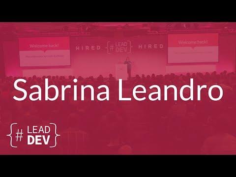 Big Rewrite Strikes Again – Sabrina Leandro | The Lead Developer UK 2017