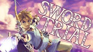 Was not me!   The Legend of Zelda Breath of the Wild Master Sword Trial