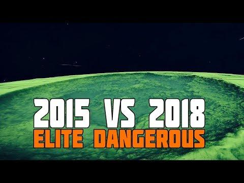 Elite Dangerous 2015 vs Elite Dangerous 2018 - Part 2