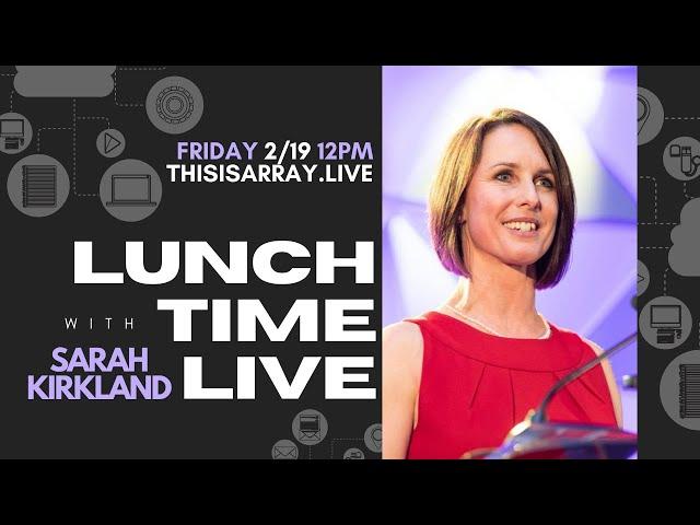 Sarah Jane Kirkland - Lunchtime Live