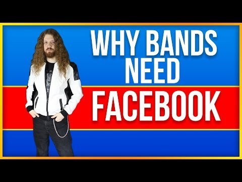 Why Bands and Musicians NEED Facebook