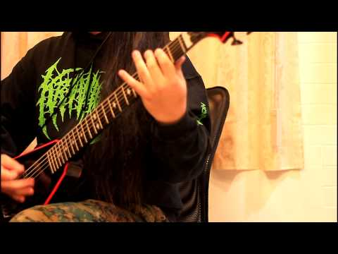 Abominable Putridity - Remnants Of The Tortured Guitar Cover