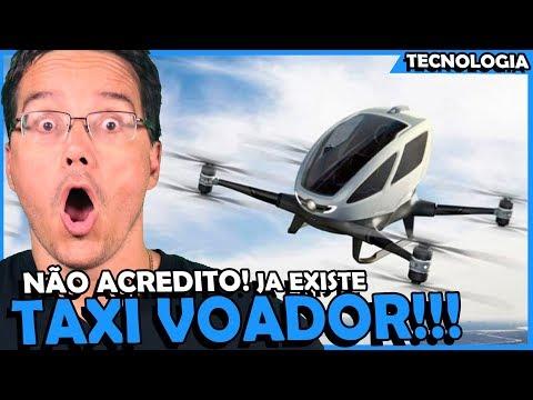 TÁXI VOADOR É REALIDADE! VOLOCOPTER VC200