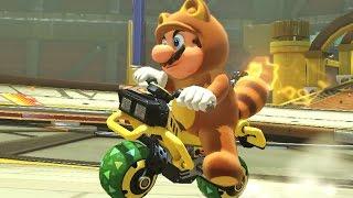 Mario Kart 8 Deluxe - 200cc Lightning Cup (Tanooki Mario Gameplay)