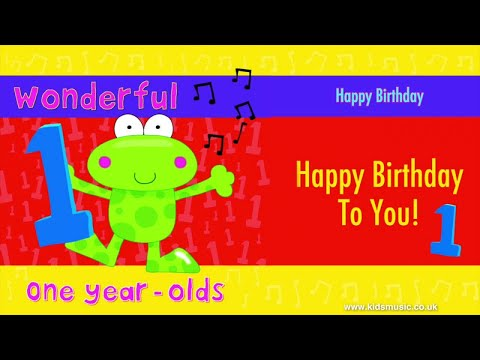 Kidzone - Happy Birthday To One Year Olds Mp3