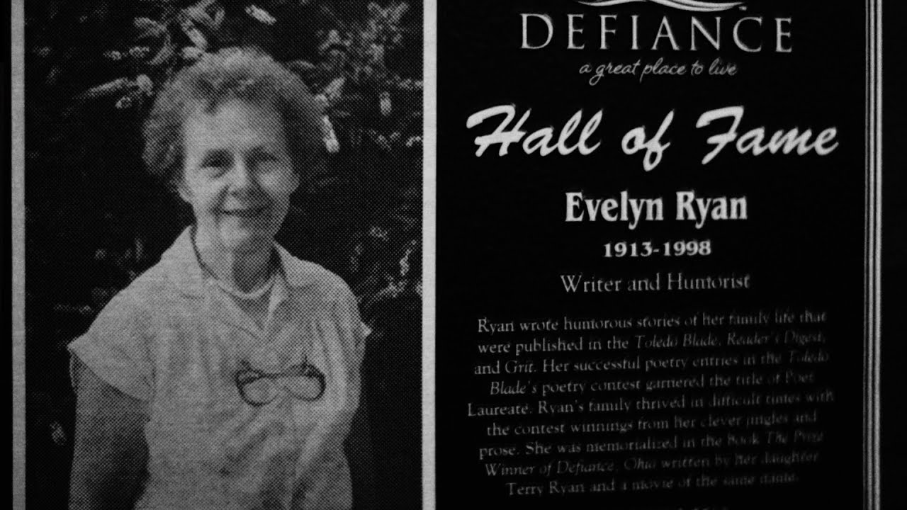 Download Evelyn Ryan - Defiance Ohio Hall of Fame Induction