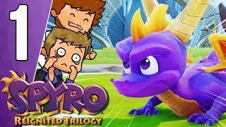 SPYRO 2 EST DEVENU UN JEU 🤩   Spyro Reignited Trilogy Ep.1