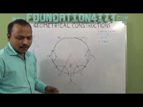 How to Construct the Inscribed Circle of a Regular Hexagon