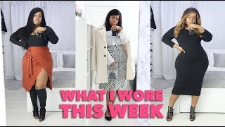 My Very Chic What I Wore This Week | Plus Size | Edee Beau